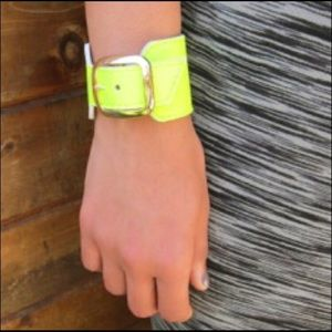 90s Genuine Leather Neon Trending Cuffs